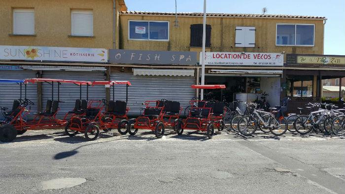 magasin de location de vélos portiragnes plage